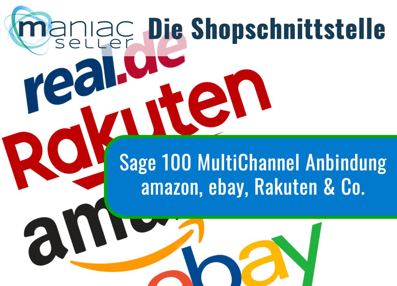 amazon, ebay und Co. Schnittstelle (MultiChannel) für Sage 100