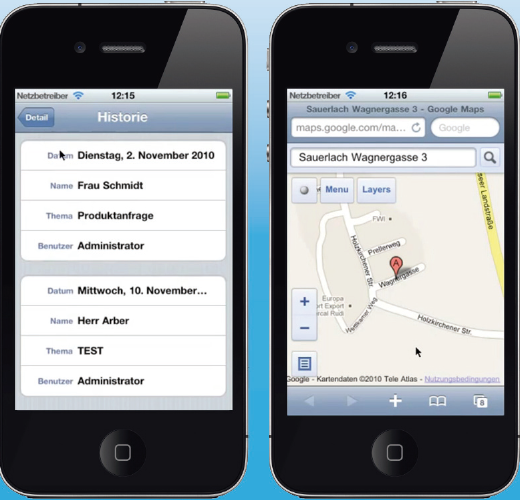 iPhone App - Office Line